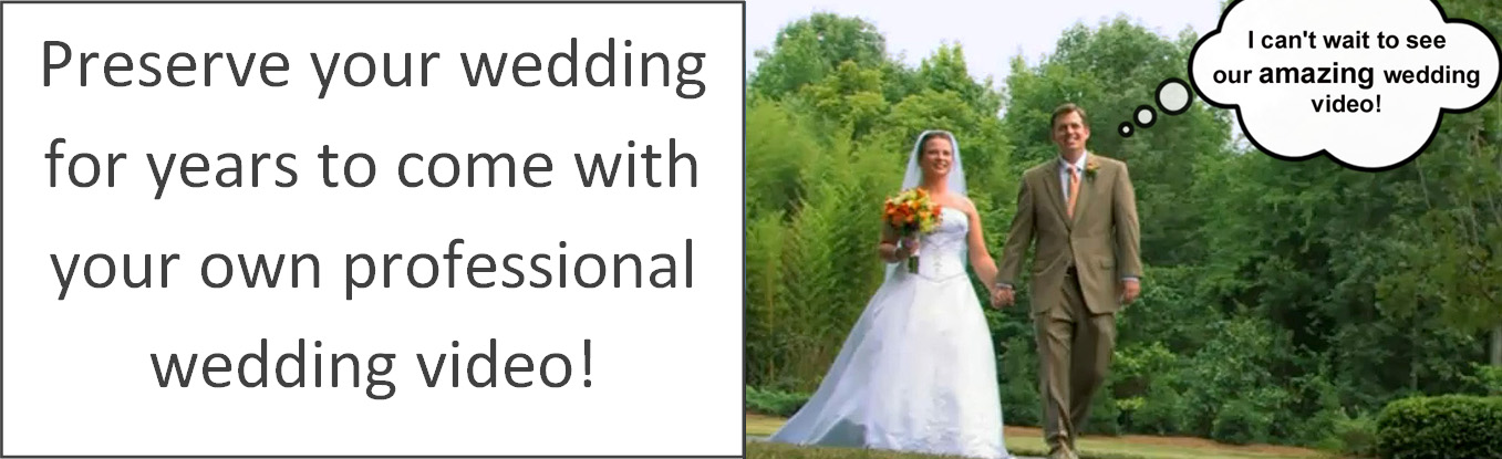 Our amazing wedding video