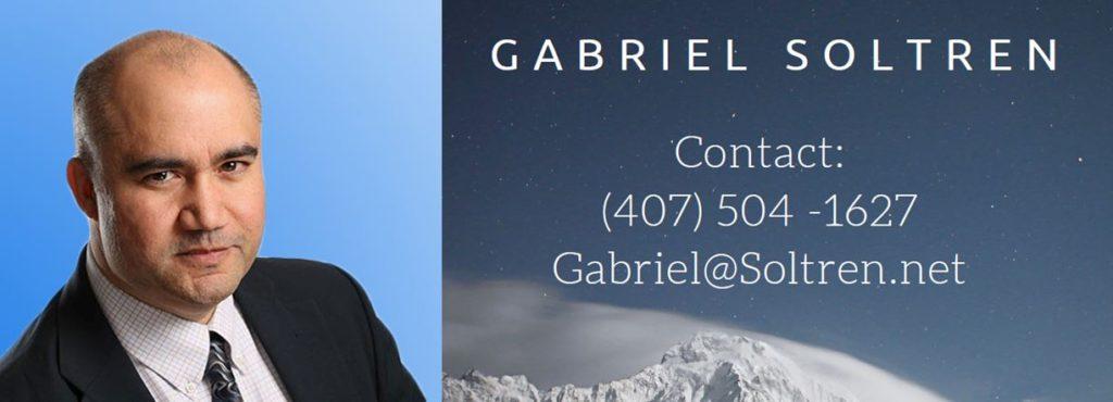 Contact Gabriel Soltren