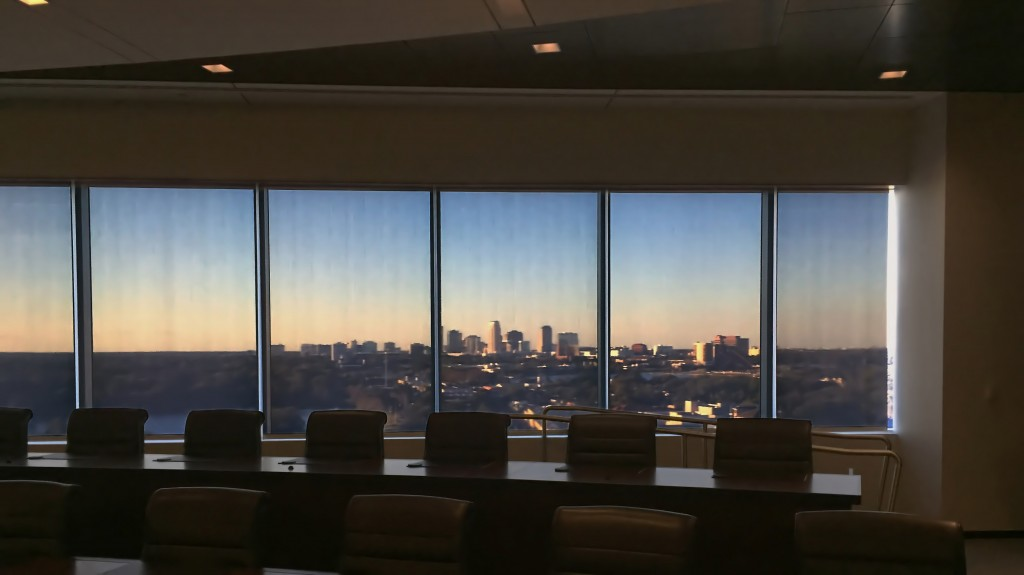 Conference Room View of Downtown